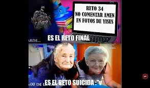 Rosa De Guadalupe Meme - este es el reto final el reto suicida la rosa de guadalupe guerra