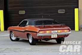 Dodge Challenger Rt Horsepower - 1970 dodge challenger r t red earth hemi rod network