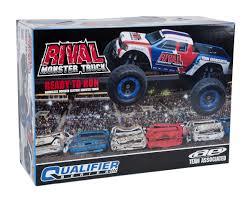 monster jam toy trucks team associated rival rtr 1 8 brushless monster truck asc20511