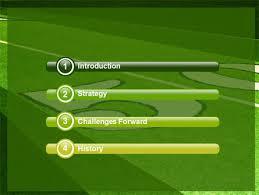 football field powerpoint template football field a powerpoint
