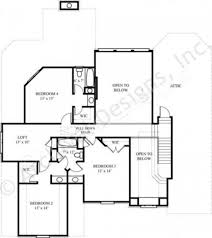 What Is Wic In A Floor Plan Whytock Ii 3065 Traditional Floor Plans Luxury House Plans
