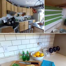 painting kitchen backsplash ideas 24 cheap diy kitchen backsplash ideas and tutorials you should see