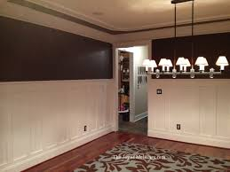 wainscoting for dining room trae s tall craftsman style wainscoting the joy of moldings com