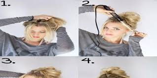 laser hair extensions bun hairstyle tutorial with easy steps emaggy
