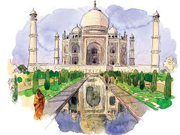 taj mahal garden layout iconic itineraries 10 perfect days in northern india condé nast