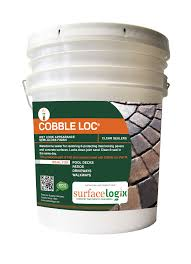 Sand For Brick Patio by Cobble Loc Clear Sealer Surfacelogix