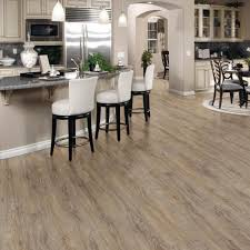 Allure Laminate Flooring Reviews Trafficmaster Allure Ultra 7 5 In X 47 6 In Vintage Oak Gray
