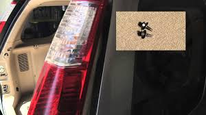 honda cr v tail light bulb replacement easy 2 minute video