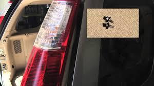 honda crv engine light honda cr v tail light bulb replacement easy 2 minute video youtube