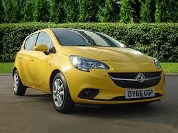 vauxhall yellow used vauxhall corsa yellow for sale motors co uk