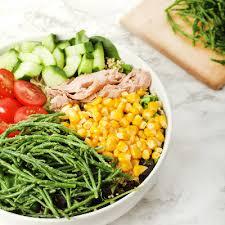 salicorne cuisine la salicorne s invite dans les salades de l enseigne jour