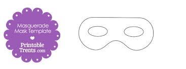 printable masquerade mask template u2014 printable treats