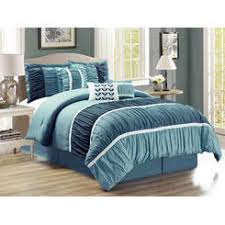 Comfort Set Queen Blue Hg Station Comforters Sears