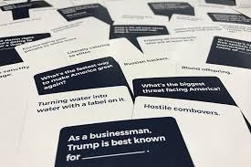 Best Way To Make Business Cards Amazon Com Trumped Up Cards A Card Game For Adults Toys U0026 Games