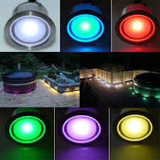 color changing led plinth and deck light led plinth light led deck