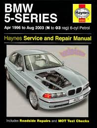 bmw 5 series service manual ebay