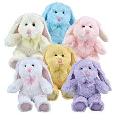 stuffed bunnies for easter bulk plush floppy eared easter bunnies 8 in at dollartree