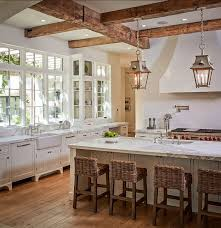 how to choose and set the best rustic kitchen lighting midcityeast