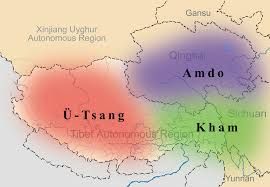 Map Of Nepal And China by Tibetic Languages Wikipedia
