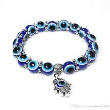 evil eye beads bracelet images Online cheap new evil eye beads bracelet with string handmade jpg