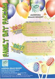 family day package merdeka resort