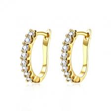 diamond ear studs kilimall fashion k gold diamond earrings plated gold earrings ear