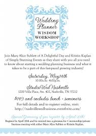 to be wedding planner a workshop for aspiring wedding planners stunning events