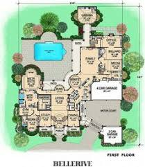 big floor plans bellerive house plan from dallasdesigngroup com house plans