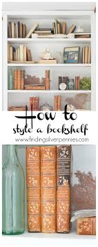 how to decorate a bookshelf how to decorate bookshelves on a budget finding silver pennies