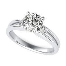 three stone engagement rings taj three stone engagement ring edwin novel jewelry design