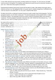 How To Write A Resume Cover Letter Sample by 13 Best Teacher Cover Letters Images On Pinterest Cover Letters