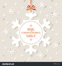 vector snowflake tag christmas sale winter stock vector 231051697
