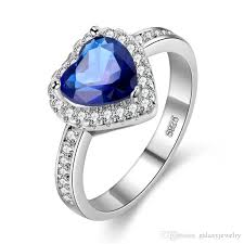 blue gem rings images 2018 yhamni luxury heart shaped blue gem ring sona cz diamond fine jpg