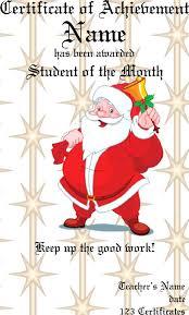 doc 500386 santa claus certificate template u2013 free printable