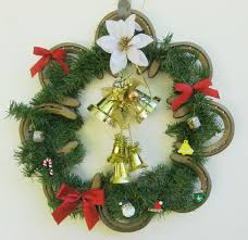 horseshoe christmas ornaments horseshoe