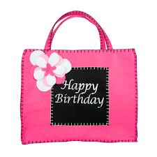 s birthday gift black and pink happy birthday gift bag groovy holidays