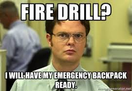 Fire Drill Meme - 10 thoughts everyone college student has during a fire drill