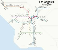 Los Angeles Subway Map by Los Angeles Public Transport Page 46 Skyscrapercity
