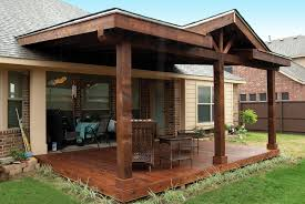 impressive covering a patio wood patio covers outdoorlivingdecor