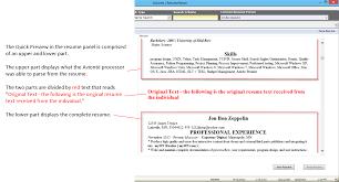 parse resume resume parsing resume for study