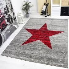 jugendzimmer teppich wohndesign ehrfürchtiges moderne dekoration mädchenzimmer rot