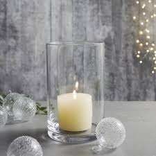 small glass hurricane candle holders home accessories home