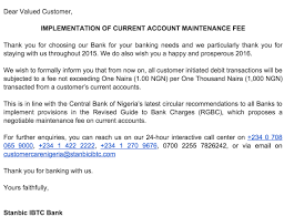 new day new cbn policy for current account holders here u0027s the