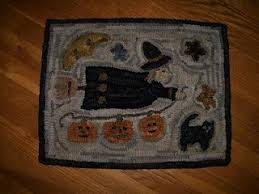 65 best halloween witches rug hooking images on pinterest