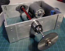 Table Saw Motor Pulley Driven Mini Table Saw 4 Steps With Pictures