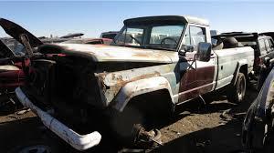 jeep truck 2017 junkyard find 1972 jeep j 4000 used up snowplow edition