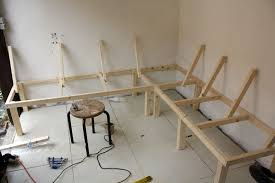 build a bench for dining table a bench for all seasons building a harvest kitchen part 3 no