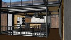 Urban Loft Style - 3d model of urban loft style house model sketchup pinterest
