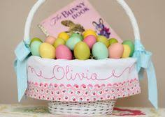 easter basket liners personalized personalized easter basket liner fits small or large pottery barn