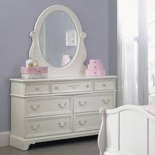 Bedroom Dresser With Mirror by Liberty Furniture Arielle Youth Bedroom 7 Drawer Dresser U0026 Oval
